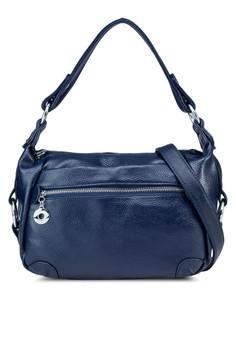 Front Zipper Shoulder Bag