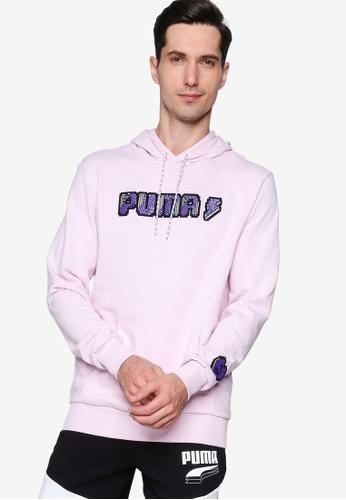 Puma 紫色 Digital Love Hoodie 332DAAA2FC8E16GS_1