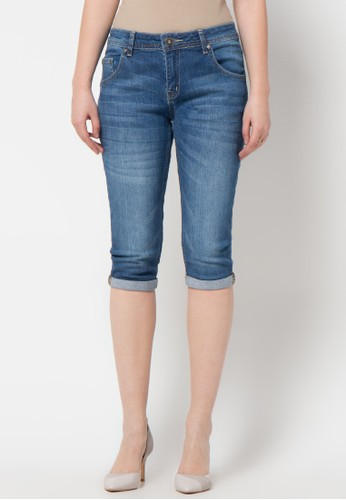 DocDenim blue Ladies Lolla Ru 3/4 Skinny Fit DO336AA95LRCID_1