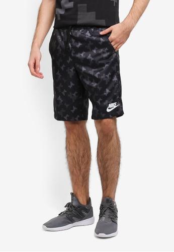Nike black and grey Men's Nike Sportswear Shorts NI126AA0SCG0MY_1