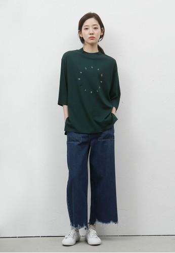 韓式時尚刷esprit門市破丹寧長褲, 服飾, 長褲及內搭褲