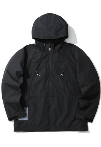 :CHOCOOLATE black Logo zip jacket 596D6AAF779B6EGS_1