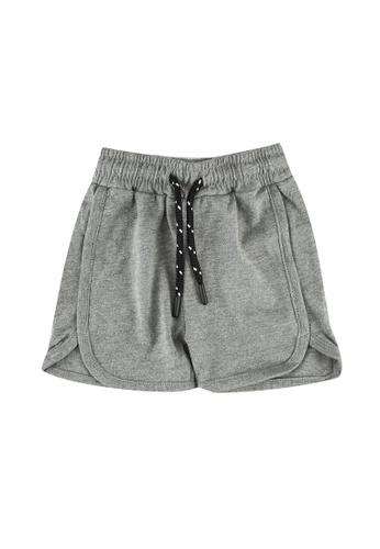 FOX Kids & Baby grey Baby Boys Drawstring Shorts 01EC1KA1BDA13FGS_1