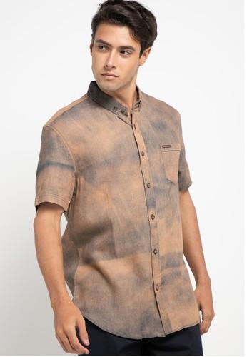 Obermain brown Polemic Shirt DF92CAA974DF9DGS_1