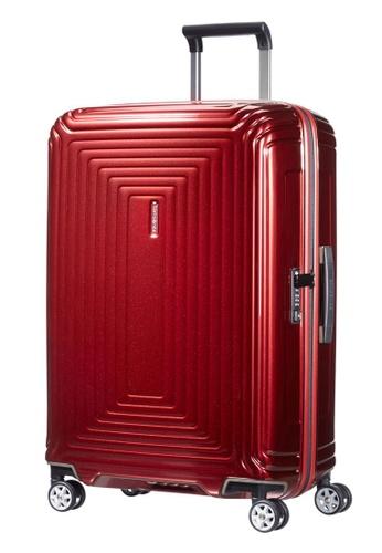 Samsonite red Samsonite Aspero Spinner 69/25 Luggage 86418AC2766024GS_1