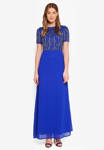 Angeleye blue Royal Blue Maxi Dress 8B27FAADA4276CGS_1