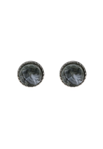 niko and ... grey Stud Earrings 376CCACE50858CGS_1