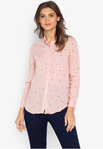 90c5b49b Shop BNY Printed Button Down Shirt Online on ZALORA Philippines