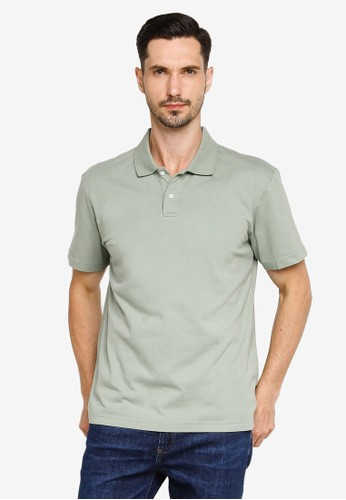 Gap green Short Sleeves Jersey Polo 39EF6AA32E6164GS_1