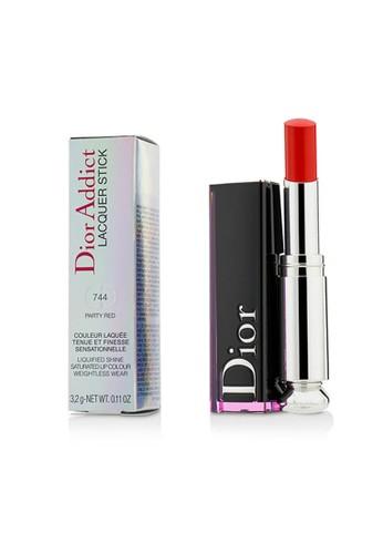 Christian Dior CHRISTIAN DIOR - Dior Addict Lacquer Stick - # 744 Party Red 3.2g/0.11oz A7611BEEA64915GS_1