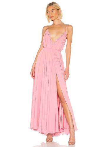 54d0a8f10e3 Michael Costello pink x REVOLVE Paris Gown(Revolve) 0548FAAFC11A71GS 1