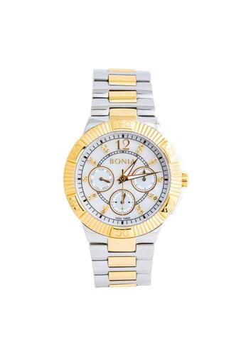 BONIA gold and silver Bonia - BP10425-2155 - Jam Tangan Wanita - Silver Gold 43895ACBC42A74GS_1