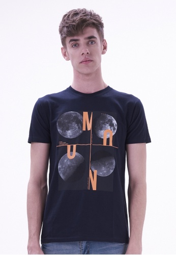 Drum Graphic Printed Tee DR425AA29HSCMY_1
