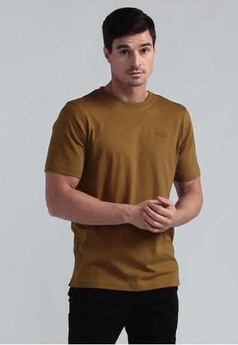 MGEE brown MGEE Basic T-Shirt 7A7A7AAA9F1003GS_1