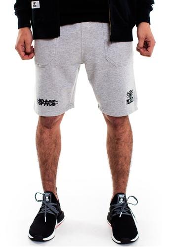 Reoparudo grey RPD Cross Space Edition Shorts (Grey) RE413AA0F52GSG_1
