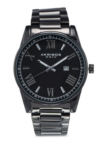 Akribos XXIV black Date Stainless Steel Watch 5B64DACDE024C2GS_1