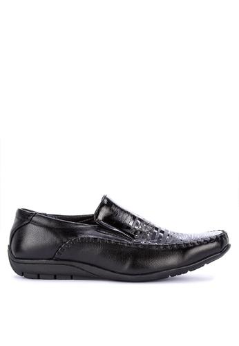 Italianos black Dewitt Formal Shoes DD54DSH387478FGS_1