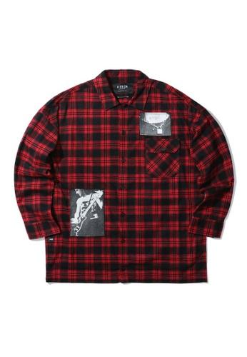 Fivecm red Instrumental shirt F7801AAF2549BAGS_1