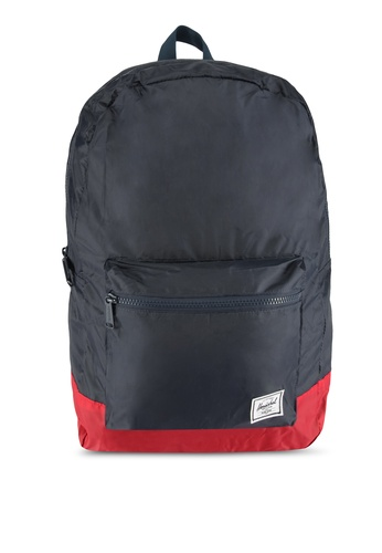 Herschel red and navy Packable Daypack Bag 9743BAC56C664DGS_1