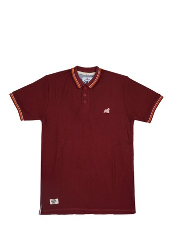 ORKIDS WEAR red ORKIDS Polo Anak Gorry Maroon FF83BKA441BFEAGS_1