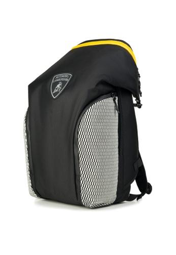 Lamborghini black Automobili Lamborghini® Galleria Black Backpack 69B74AC86F934FGS_1