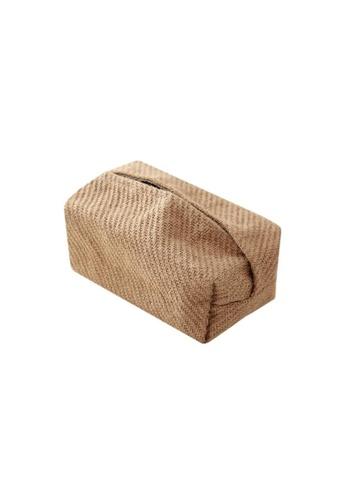 DILAS HOME Jute Tissue Paper Holder (Type A) B6B42HL6191B78GS_1