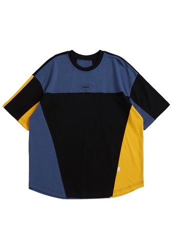 Twenty Eight Shoes Contrast Printed Short T-shirt 1593S21 E5479AAF32F448GS_1