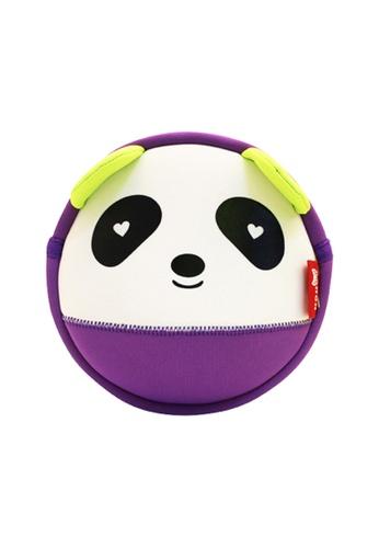 Nohoo purple Nohoo Kids Sling Bag Panda (Purple) 6B713KCFDED1D3GS_1
