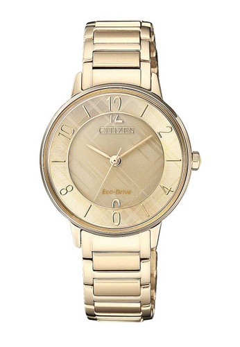 CITIZEN gold Citizen Eco-Drive Gold Stainless Steel Watch 15E6EAC8E0EFB4GS_1