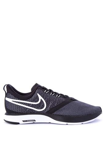 Nike black Women's Nike Zoom Strike Running Shoes NI126SH0STTGMY_1