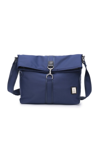 DUSTY blue Tote Folded 32CDCAC78F1F61GS_1
