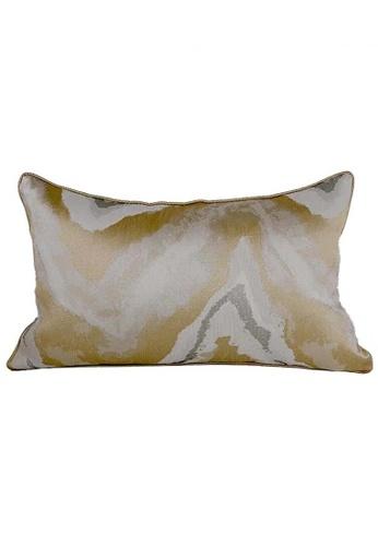 Maison Curio Nicola Long Cushion Khaki FDE7AHL4726425GS_1