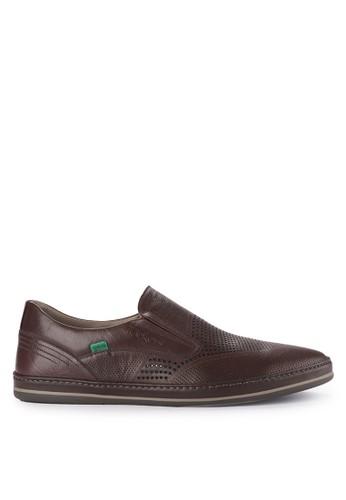 Kickers brown Man Shoes 3122E 18616SHF9FF17BGS_1