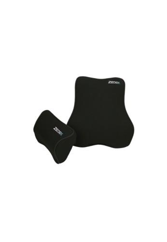 Zenox black Memory Foam Pillows (Black) E8ABCHLED77C2AGS_1