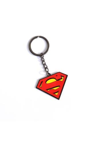 DC Comics Superman Glow Enamel Keychain AAD77HL4E74884GS_1