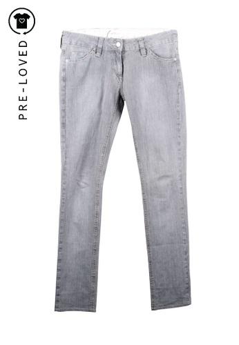 Isabel Marant Etoile grey Pre-Loved isabel marant etoile Grey Straight Trousers BAD4BAA304EB40GS_1