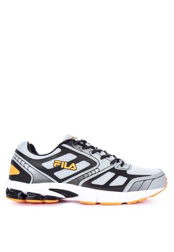 Fila grey and multi Upstart Running Shoes ED2B3SH2C0B50EGS_1