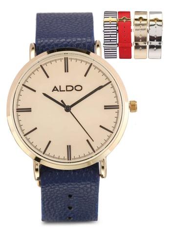 ALDO navy Kemery Watch 7F1DCAC4CBD9B7GS_1