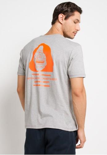 Converse grey Reeper T-Shirt 2315DAA18308A3GS_1