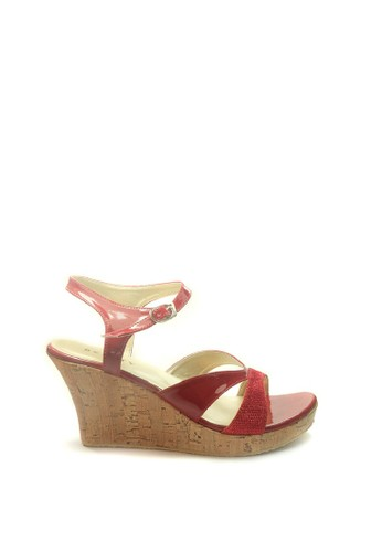 Beauty Shoes red Beauty Shoes 1240 Wedges Red FC9E5SHF1075C1GS_1