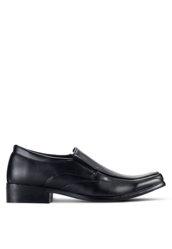 Rocklander black Slip On Dress Shoes RO978SH58JCJMY_1