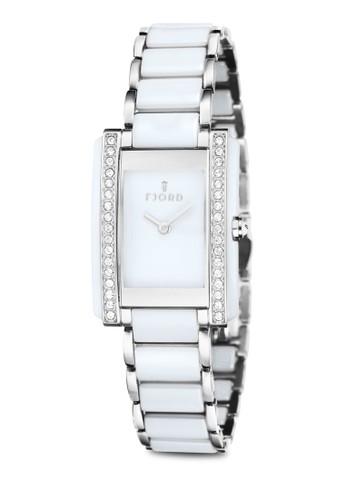 Vihelmina 日本機芯閃鑽方錶, 錶類zalora 衣服尺寸, 淑女錶