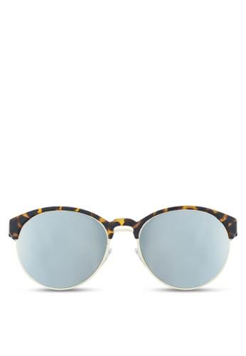NUVEAU 金屬邊圓框太陽眼鏡, 飾品配esprit童裝門市件, 圓框