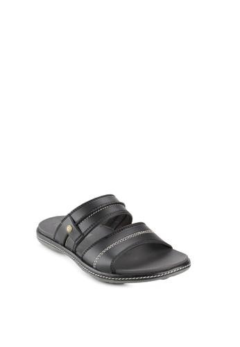Homyped black Norton 02 Men Sandals HO842SH79SOMID_1