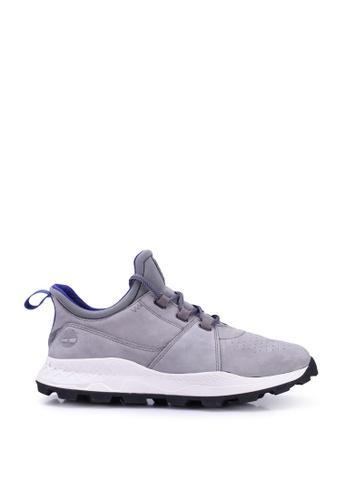 Timberland grey Brooklyn Oxford Sneakers 8FC92SH3B1649AGS_1