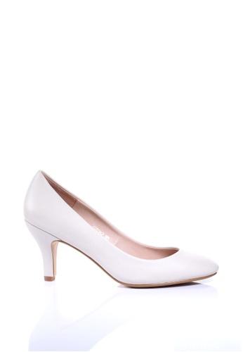 PRODUIT PARFAIT white Round Toe Pumps 1F4DASH5F079F8GS_1