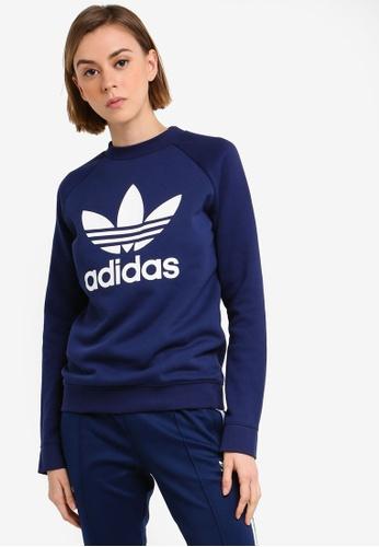 65d72682740 Buy adidas adidas originals trf crew sweatshirt Online on ZALORA ...