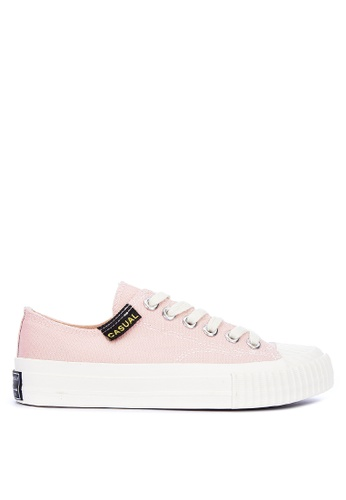 Appetite Shoes pink Lace Up Sneakers 27A93SH5485D85GS_1