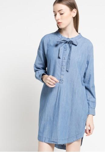 RODEO blue Tunic Shirt RO332AA47DJOID_1