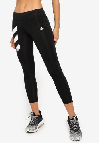 ADIDAS black adidas adidas own the run tight pb 3 stripes women 074D4AA0196364GS_1